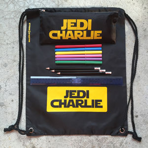 Personalised Boxed Jedi Bag