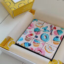Sweet Treats Vegan Mosaic Biscuit Bonbons Gift Box9