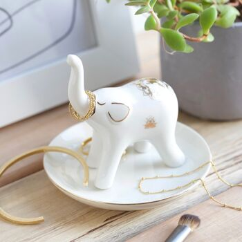 Elephant Jewellery Dish