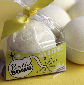 Gin And Tonic Bath Bomb Gift