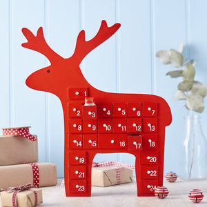 Reindeer Advent Calendar - advent calendars