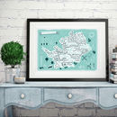 Hertfordshire County Map Print