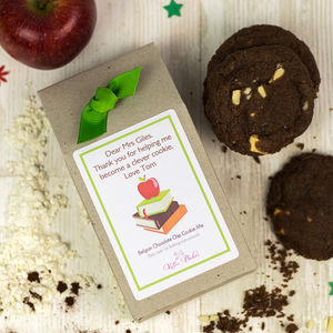 Personalised Teacher Gift Cookie Mix - biscuits and cookies