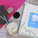 Polar Bear Needle Felting Craft Kit