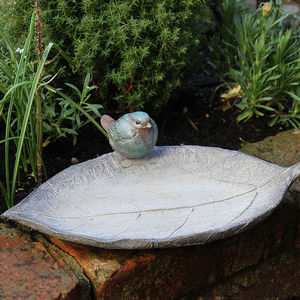 Leaf Bird Bath