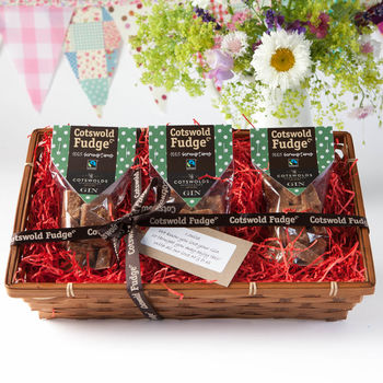 Cotswold Gin Fudge Hamper