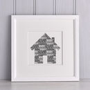 Family Home Parents and Children Print