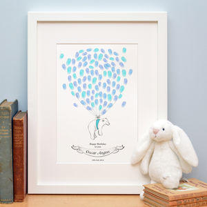 Polar Bear Fingerprint Artwork - albums & guest books