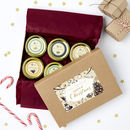 Twelve Scents Of Christmas Scented Candle Gift For Her