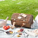Personalised Wicker Barrel Picnic Hamper