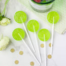 Five Alcoholic Gin And Elderflower Lollipops