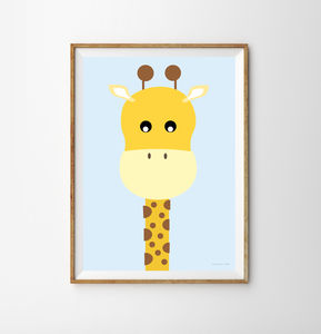 Giraffe Children's Print - what's new