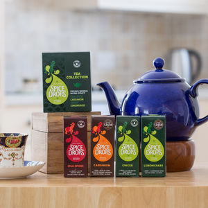 Spice Drops® Tea Collection With Recipe Booklet - teas, coffees & infusions