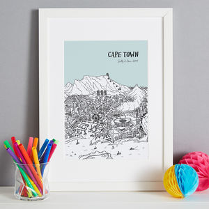 Personalised Cape Town Print
