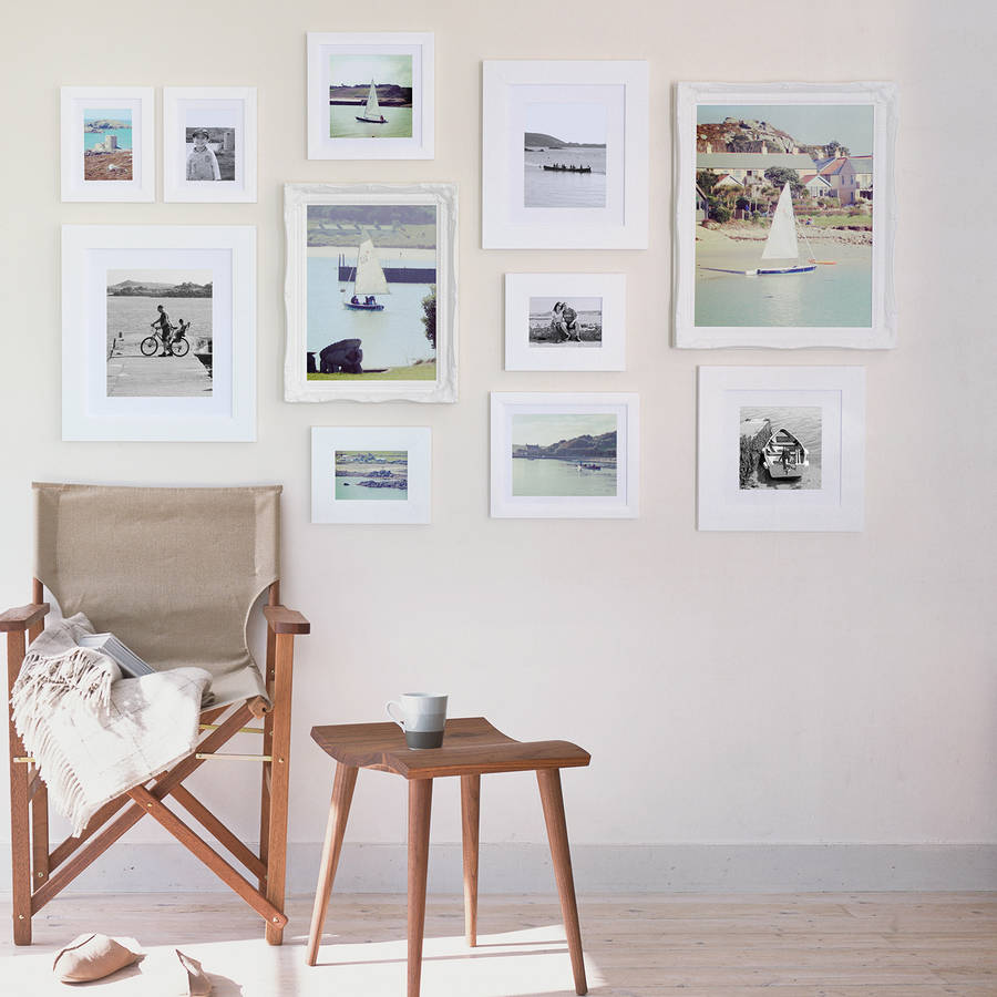 gallery frame white wall collection various sizes by picture that ...