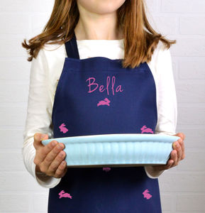 Personalised Bunny Rabbit Child's Apron