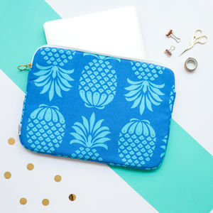 Pineapple Print Laptop Or Tablet Case