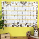 2021 Owls Wall Calendar And Year Planner