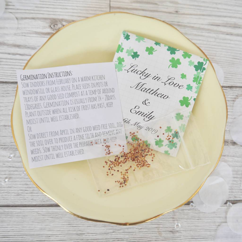 Contemporary Irish Wedding Favors Collection - The Wedding Ideas ...