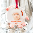 Baby's First Christmas Ceramic Photo Tree Decoration