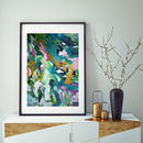 Teal Art Prints Decor Large Abstract Wall Art Prints