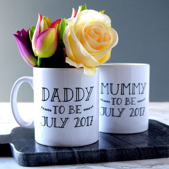Personalised Parent To Be Mug