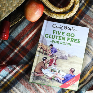 Personalised Five Go Gluten Free Book - gifts to make them smile