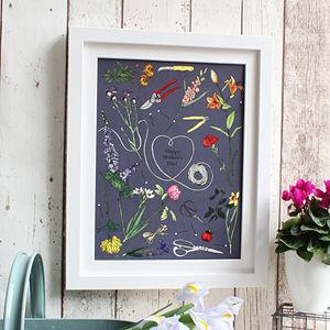 Florist Bouquet Personalised - nature & landscape