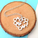 Love Chemistry With Initial Necklace
