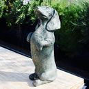Begging Dachshund Sculpture
