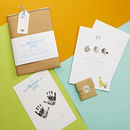 Happy First Father's Day Inkless Print Kit
