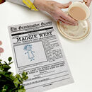 'The Grandmother Gazette' Personalised Newspaper