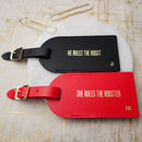 Chinese New Year Luggage Tags