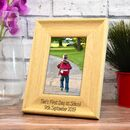 Personalised First Day At School Picture Frame