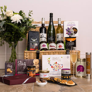 Champagne Celebration Hamper - wines, beers & spirits