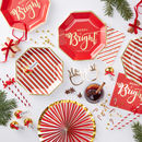 Gold Foiled Candy Cane Glass Decorations Red And Gold