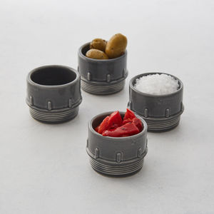 Pipe Espresso / Condiment Set, Free Delivery - what's new