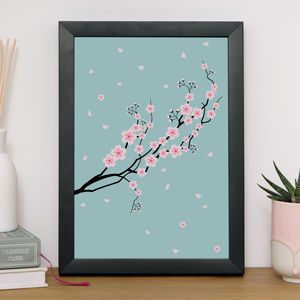 Sakura Branch Giclee Print - what's new