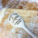 Personalised 'Kitchen' Wooden Spoon