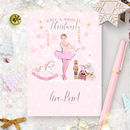 Personalised Nutcracker Christmas Card 'Ballerina'