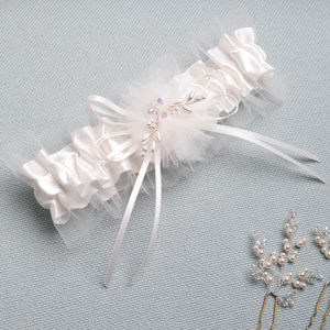 Bridal Garter Something Blue