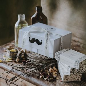 A Gentleman's Gift Set - bathroom