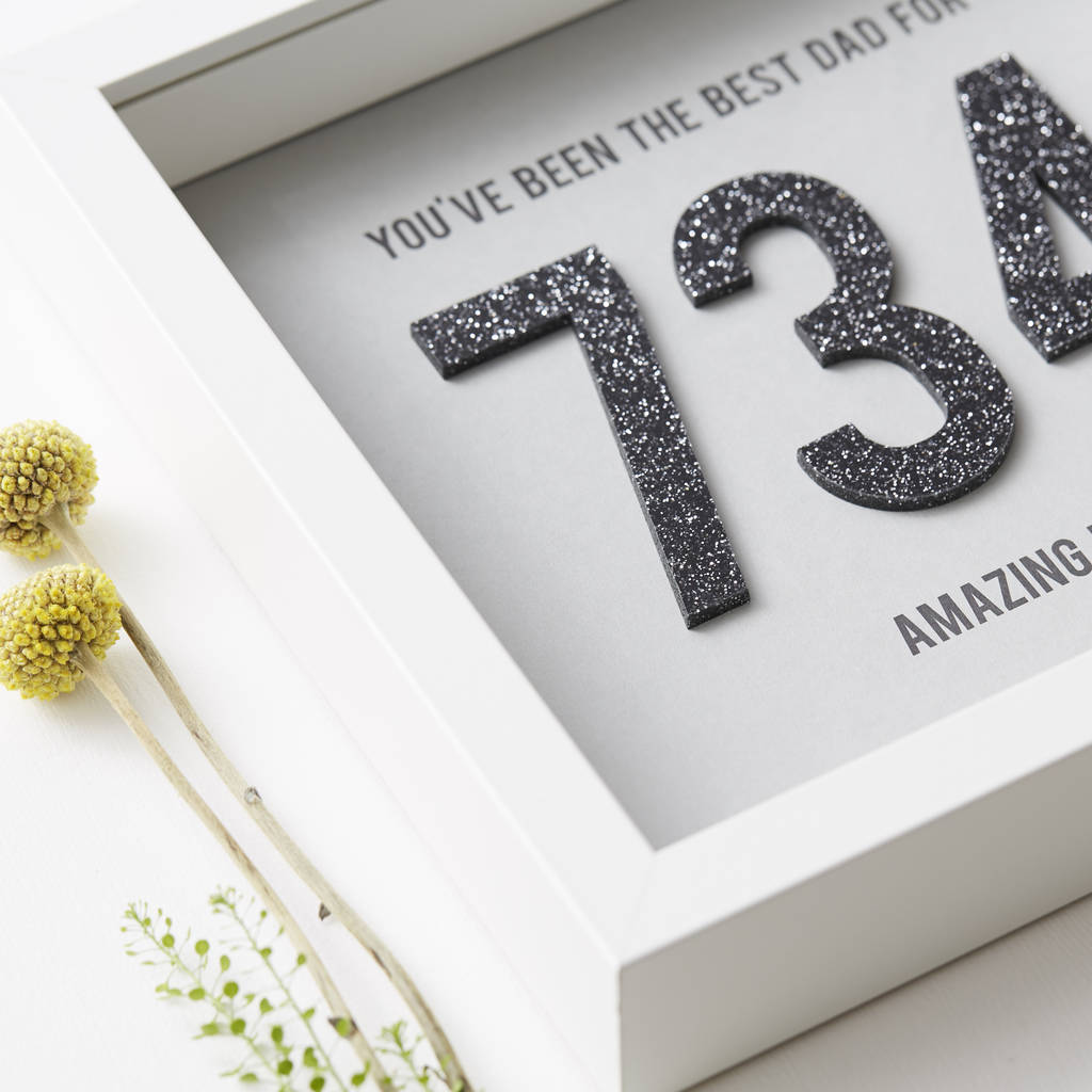 personalised days together framed print by sophia victoria joy ...