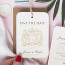 Passport Wedding Save The Date Travel Luggage Tag