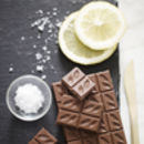 Italian Lemon And Sea Salt 41% Milk Chocolate Bar