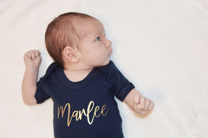 Personalised Bodysuits - clothing