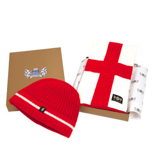 England Team Cashmere Football Scarf Gift Sets