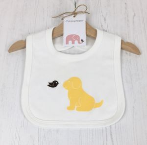 Organic Puppy Bib - nursing essentials