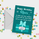 Personalised Scratch Off Surprise Birthday Card A5