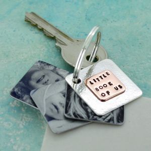 Little Book Of Us Photo Keyring